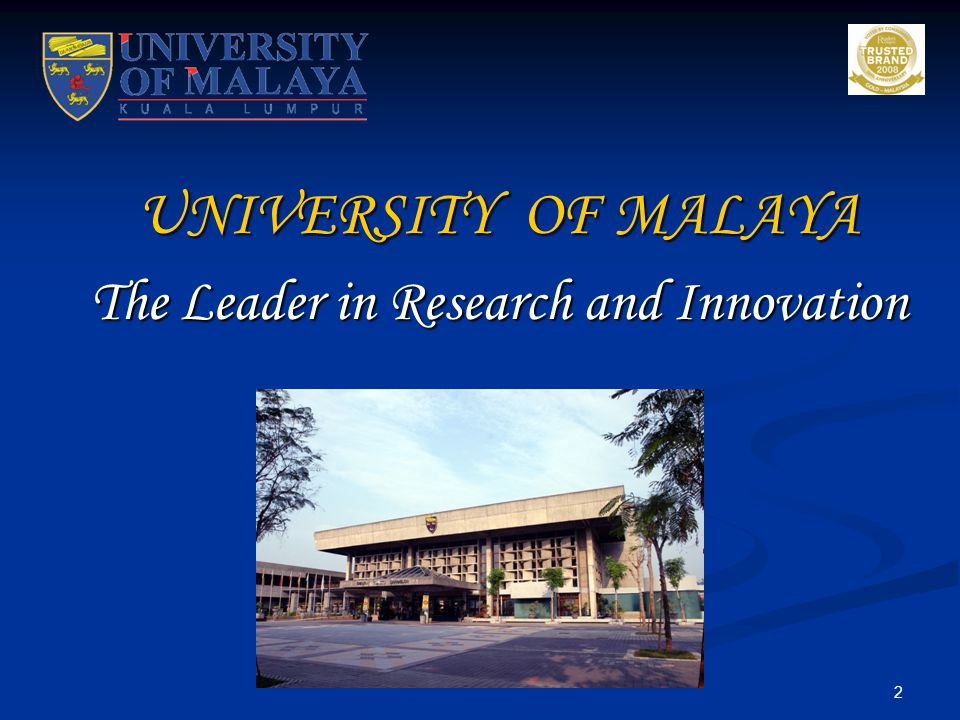 The Leader in Research and Innovation