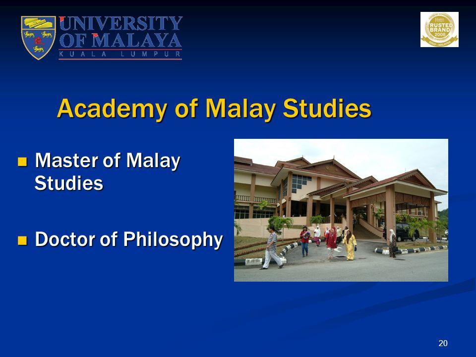Academy of Malay Studies