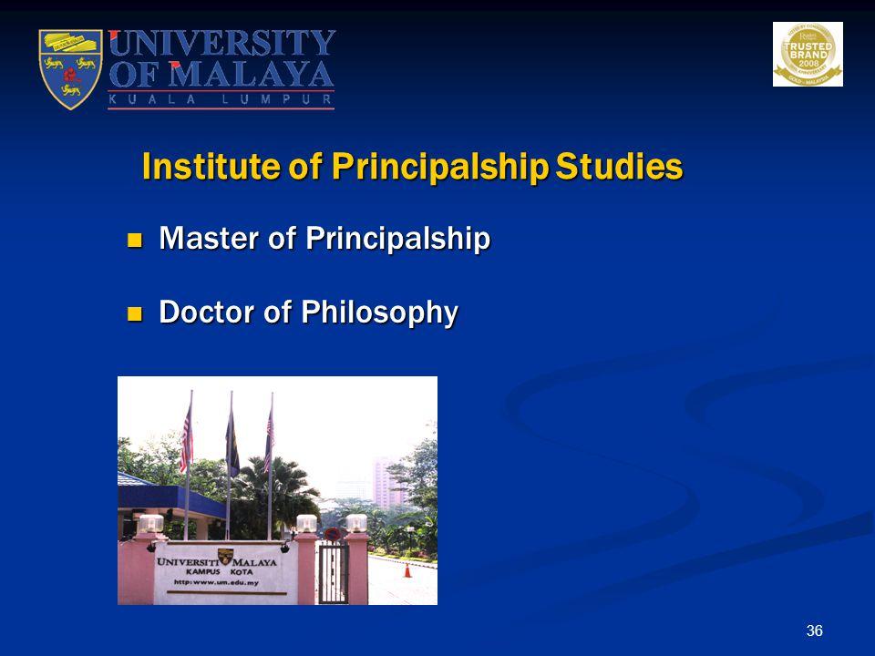 Institute of Principalship Studies