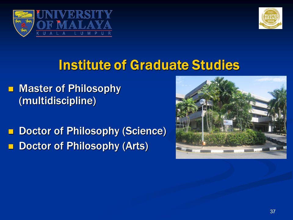 Institute of Graduate Studies