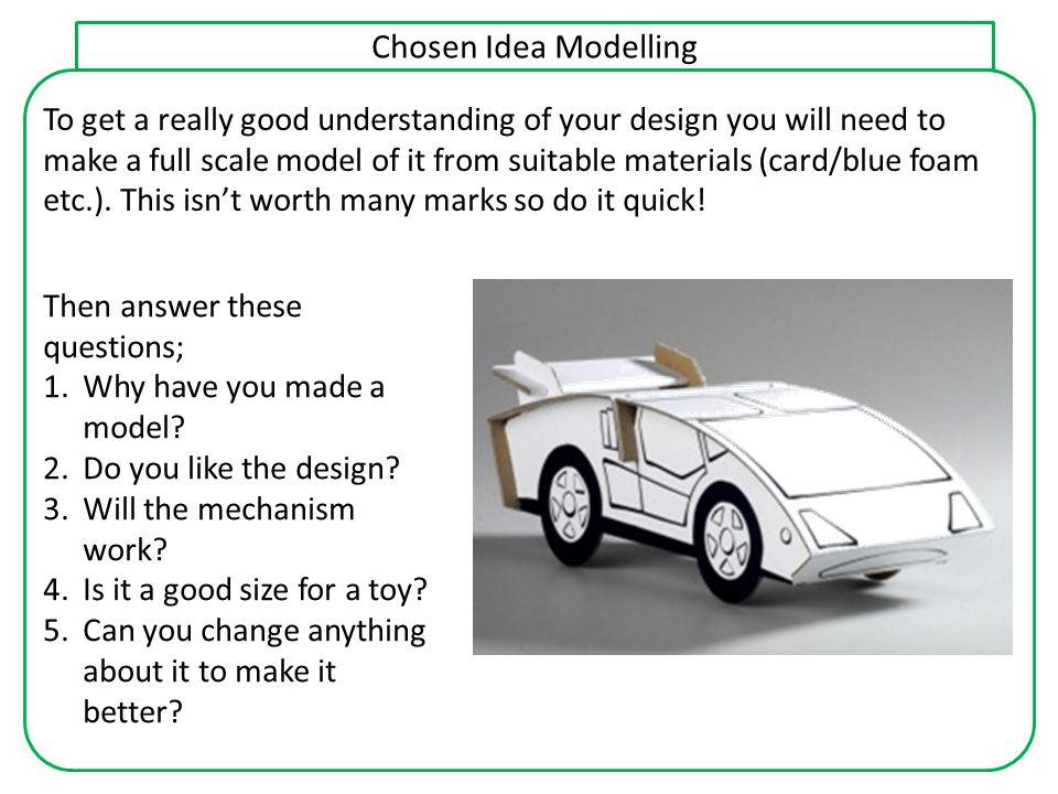 Chosen Idea Modelling