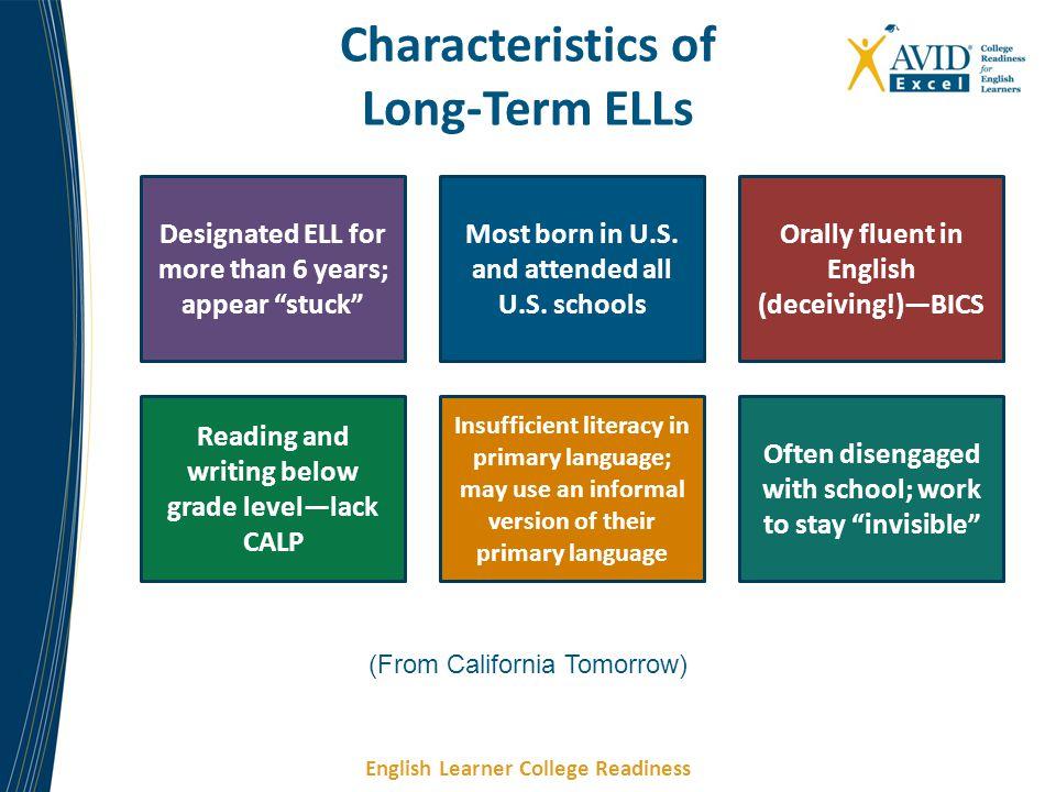 Characteristics of Long-Term ELLs