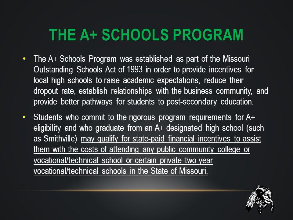 The A+ SCHOOLS PROGRAM