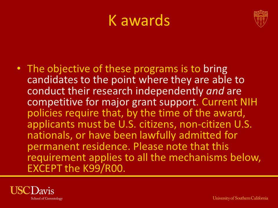K awards