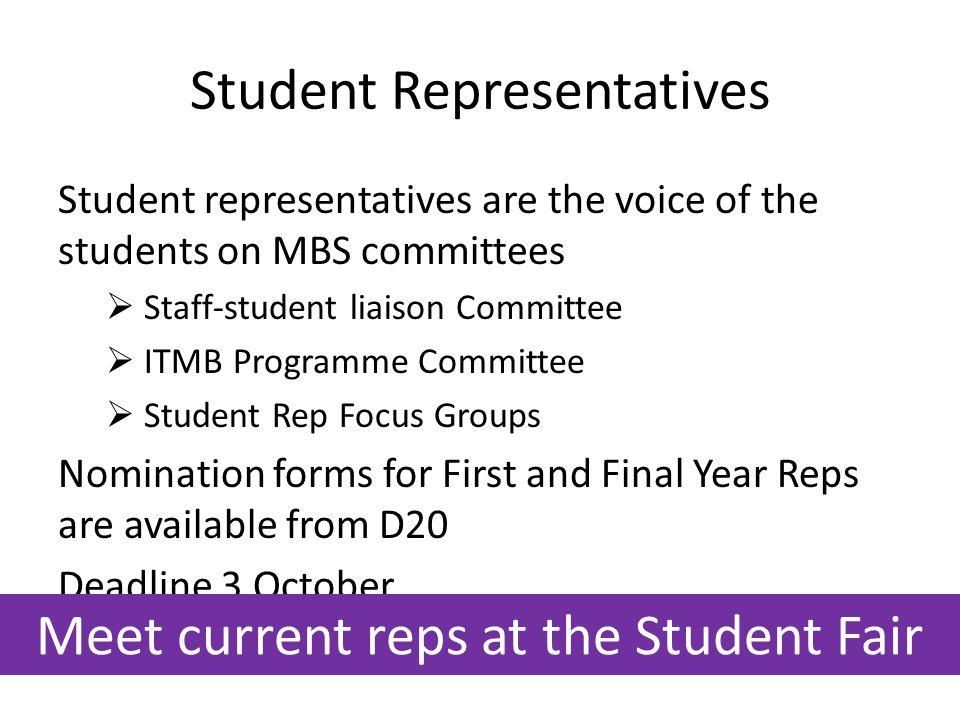 Student Representatives