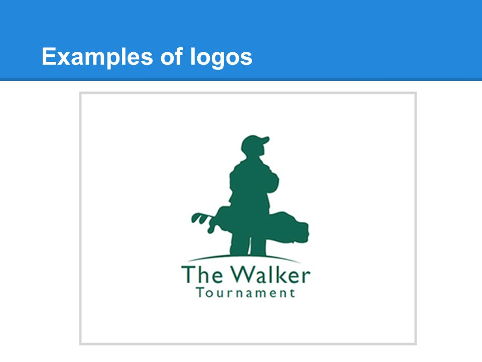 Examples of logos