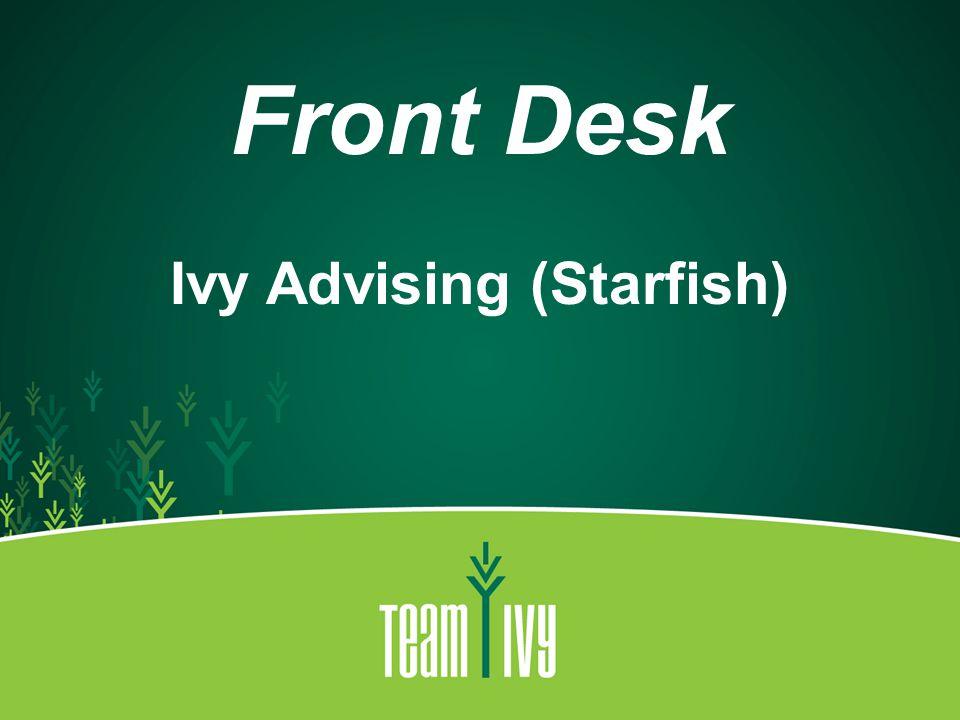 Ivy Advising (Starfish)