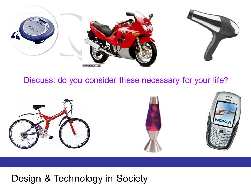 Design & Technology in Society
