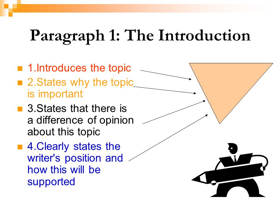 Paragraph 1: The Introduction