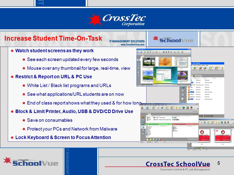 Increase Student Time-On-Task