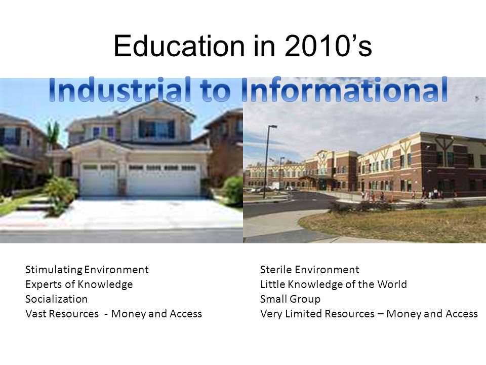 Industrial to Informational