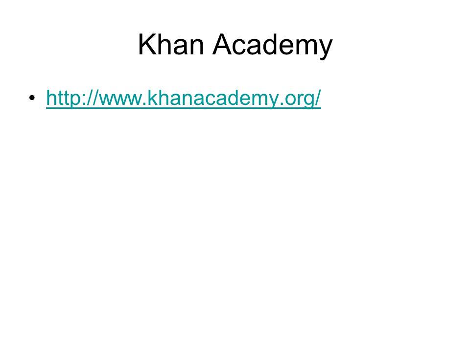 Khan Academy http://www.khanacademy.org/