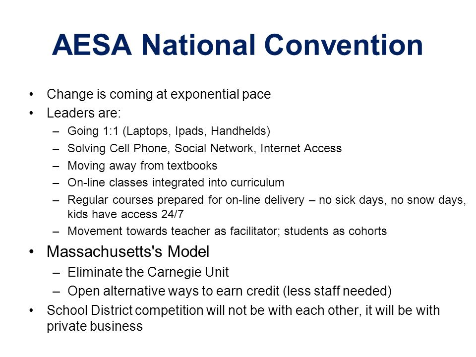 AESA National Convention