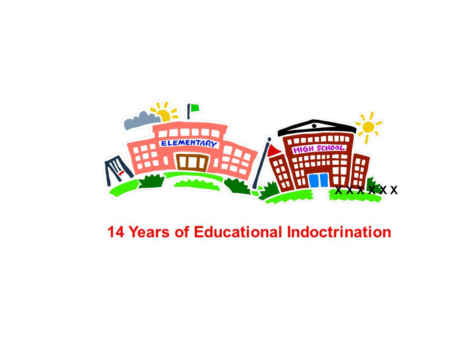 14 Years of Educational Indoctrination