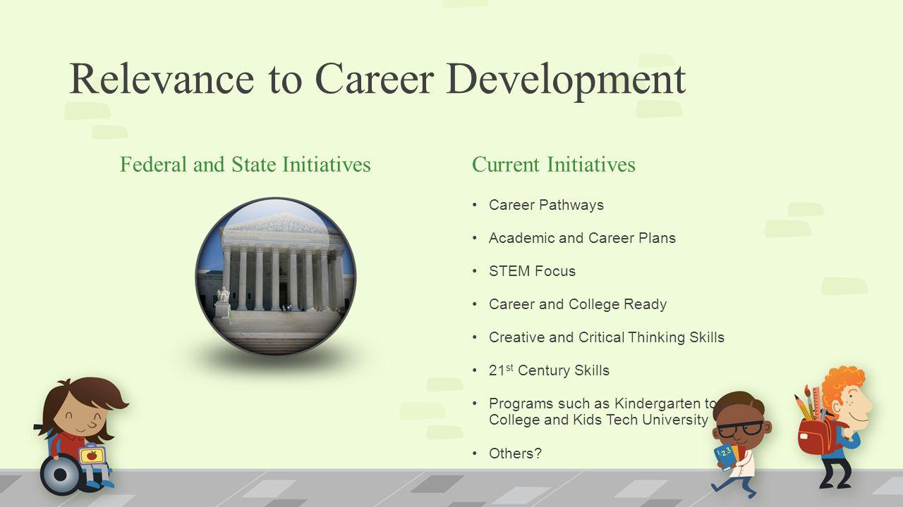 Relevance to Career Development