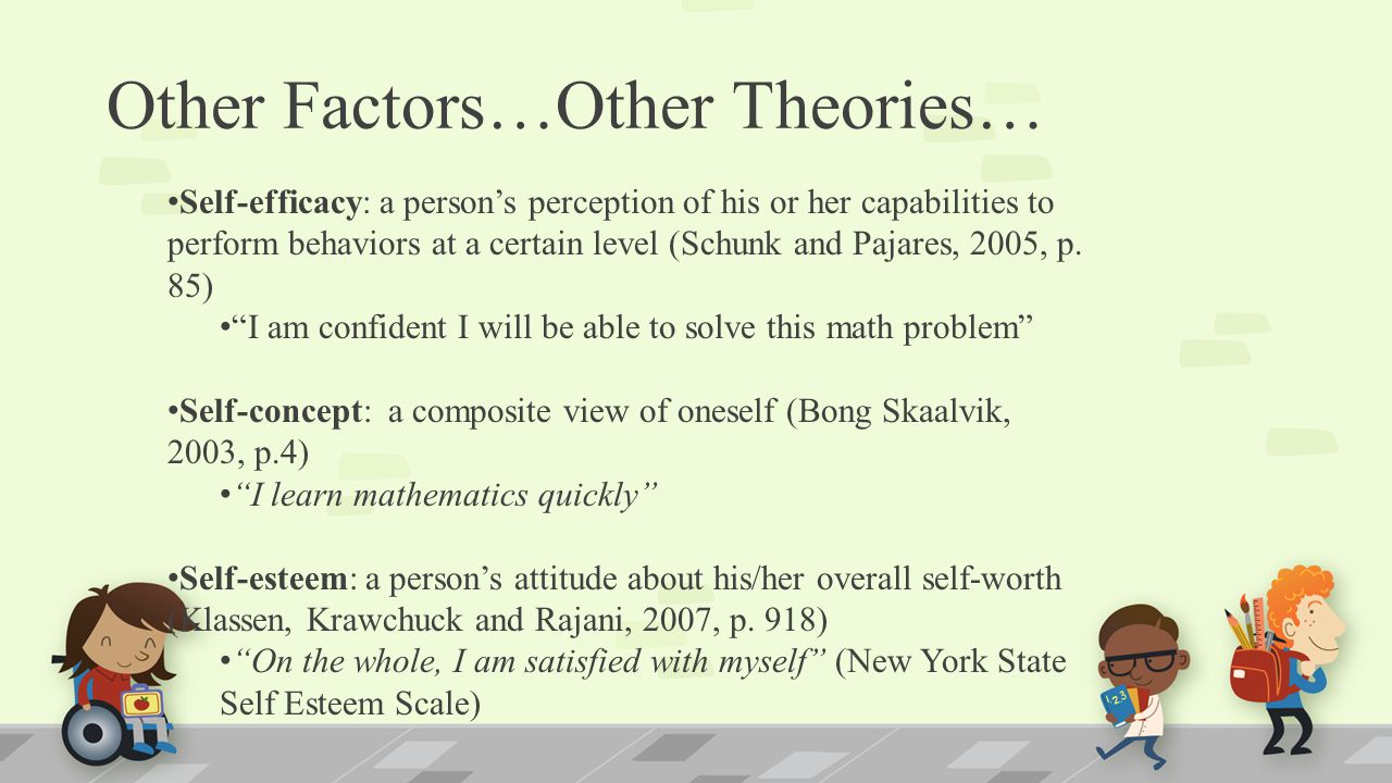 Other Factors…Other Theories…