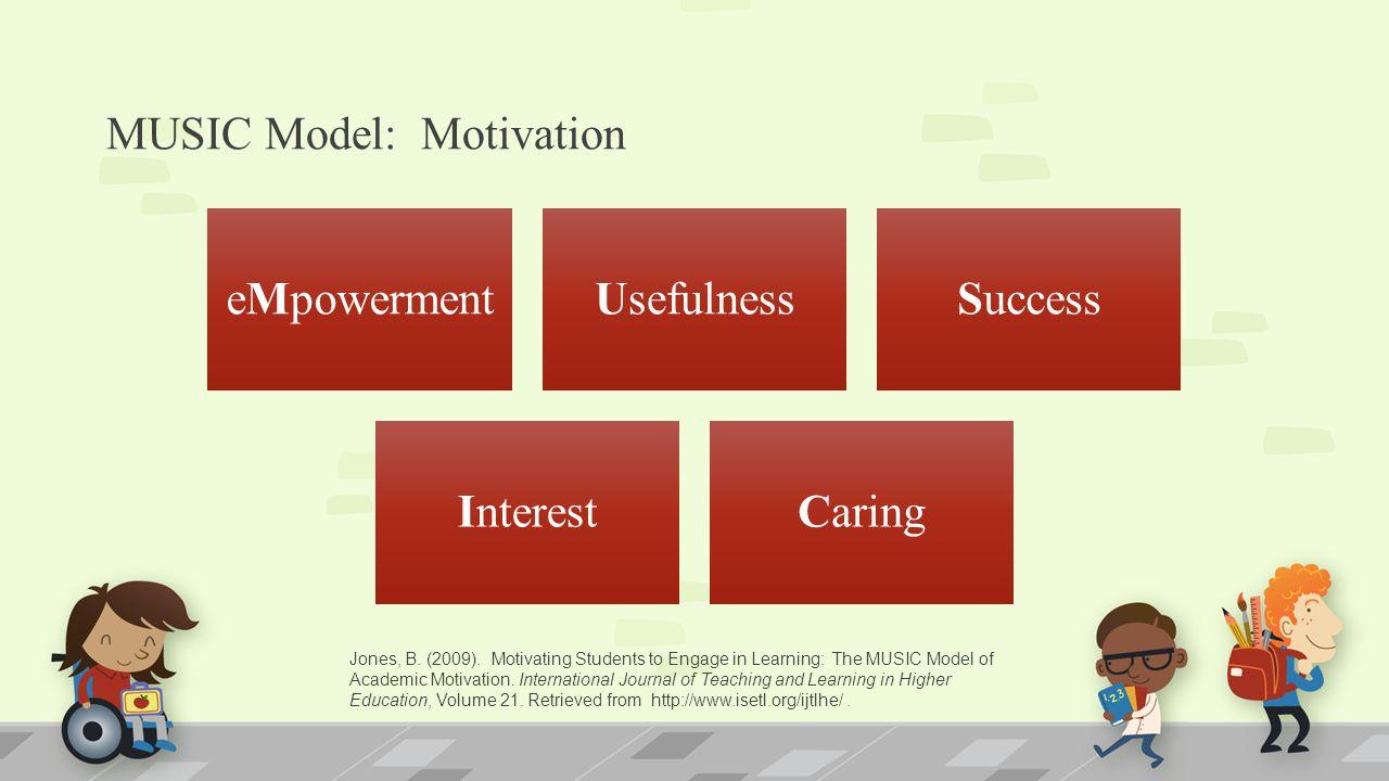 MUSIC Model: Motivation