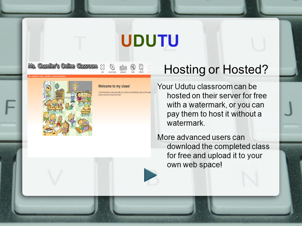 UDUTU Hosting or Hosted