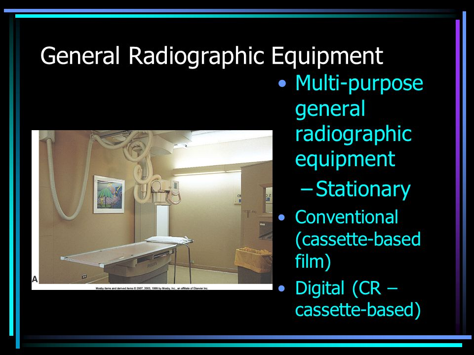 General Radiographic Equipment