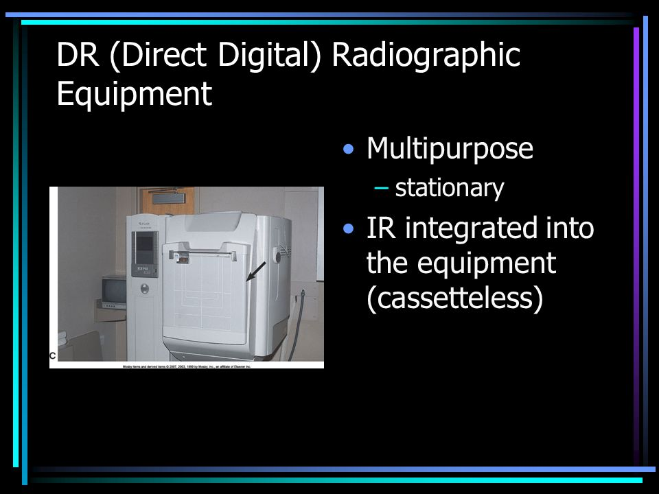 DR (Direct Digital) Radiographic Equipment