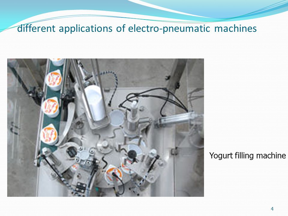 different applications of electro-pneumatic machines