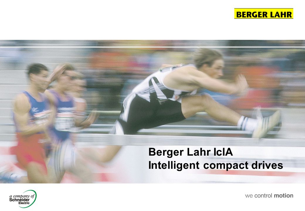 Berger Lahr IclA Intelligent compact drives