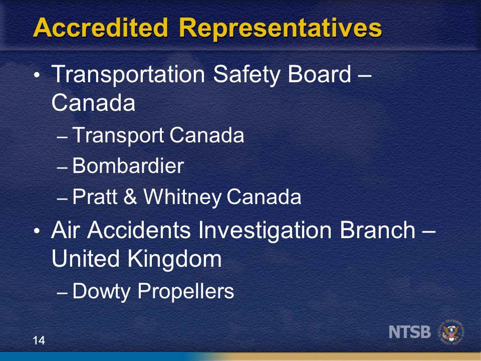 Accredited Representatives