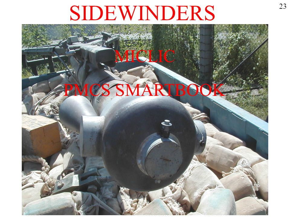 SIDEWINDERS 23 MICLIC PMCS SMARTBOOK