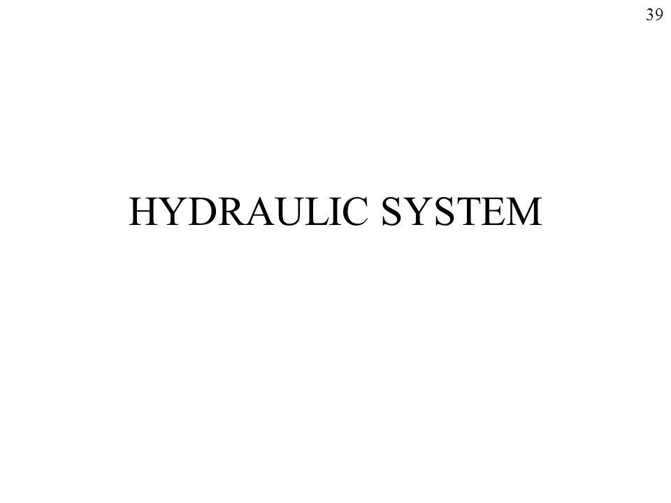 39 HYDRAULIC SYSTEM