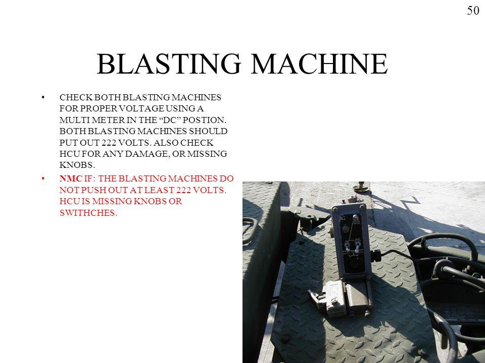 50 BLASTING MACHINE.