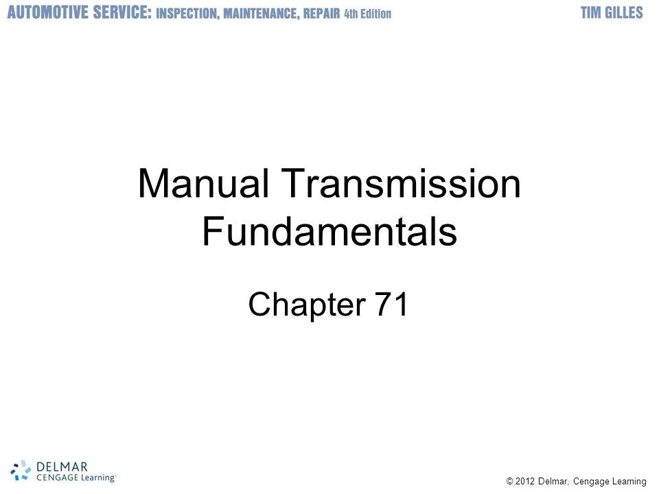 Manual Transmission Fundamentals