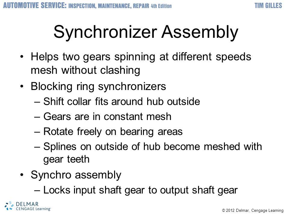 Synchronizer Assembly
