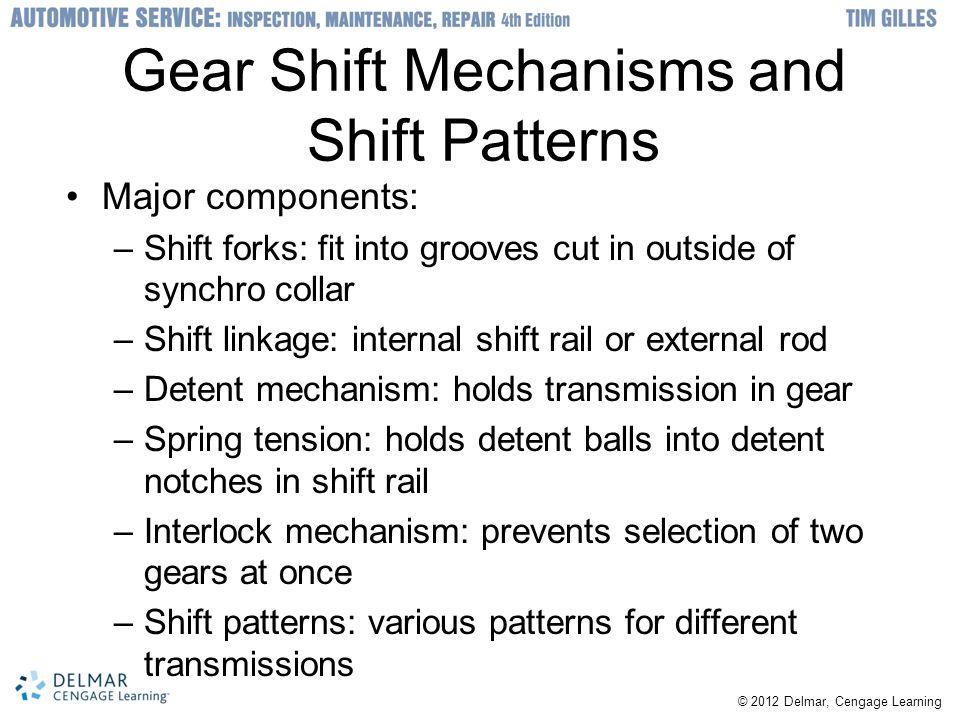 Gear Shift Mechanisms and Shift Patterns