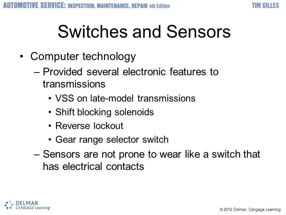 Switches and Sensors Computer technology