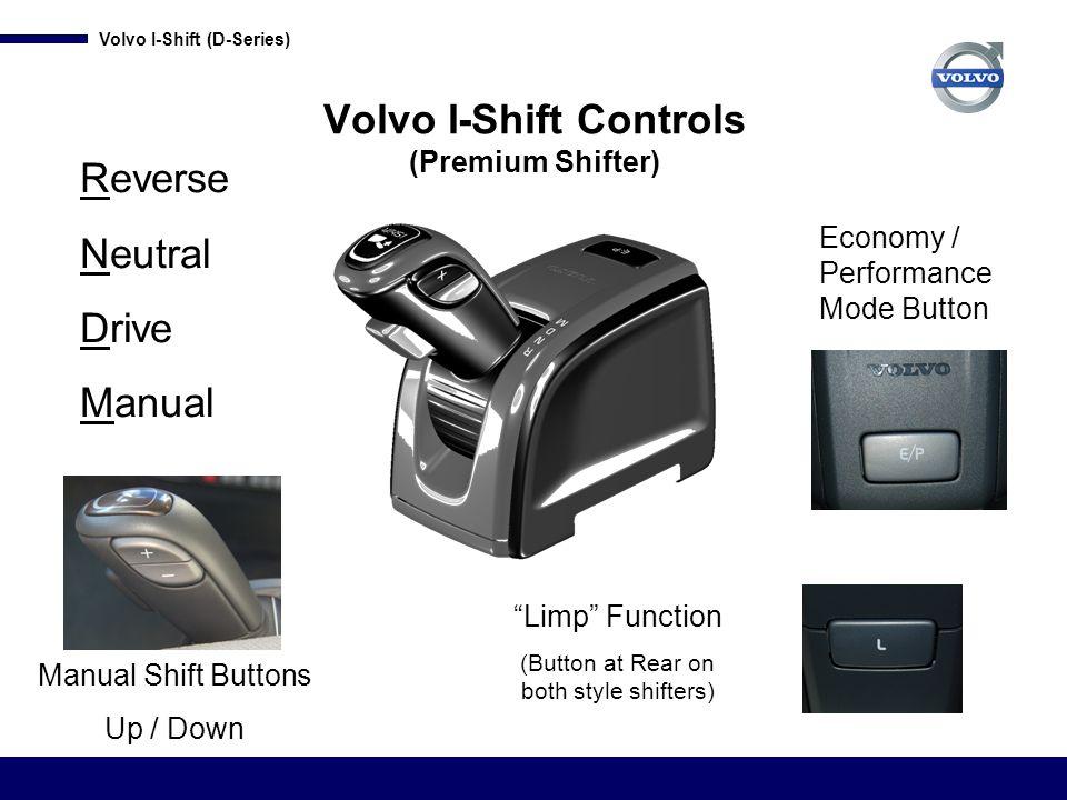 Volvo I-Shift Controls (Premium Shifter)