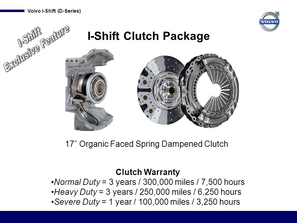 I-Shift Clutch Package