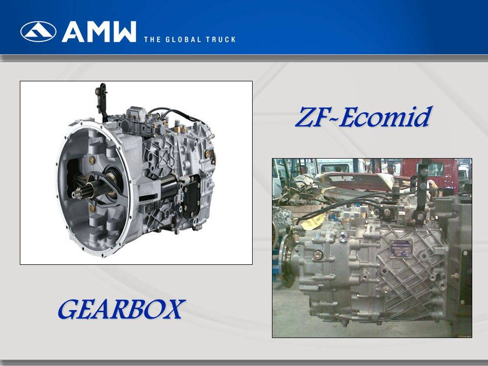 ZF-Ecomid GEARBOX