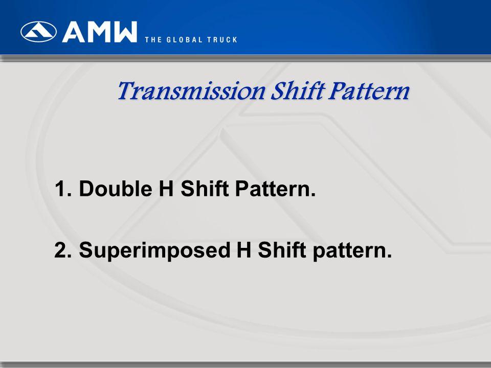 Transmission Shift Pattern
