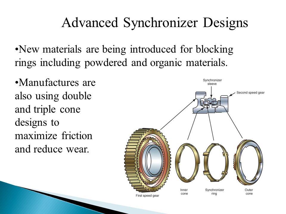 Advanced Synchronizer Designs