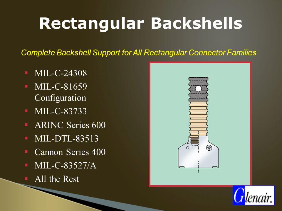 Rectangular Backshells