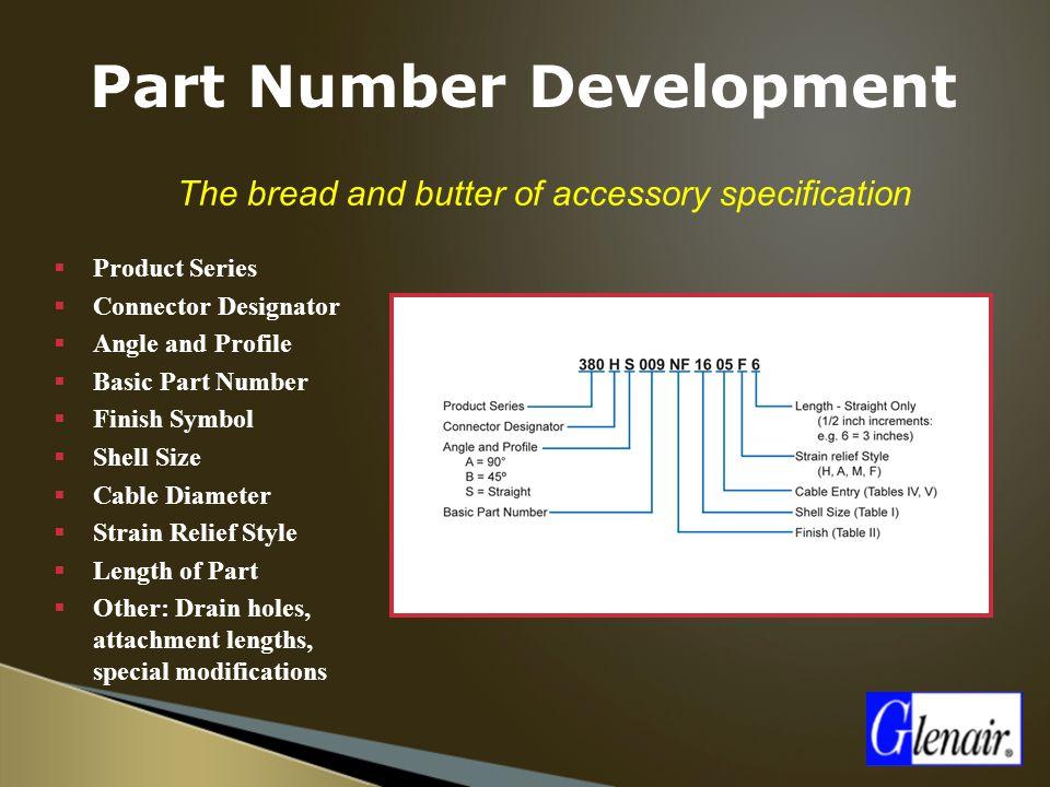 Part Number Development
