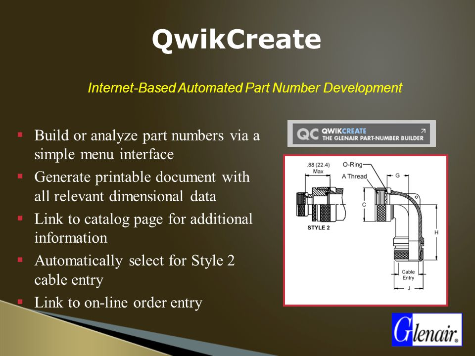 Internet-Based Automated Part Number Development