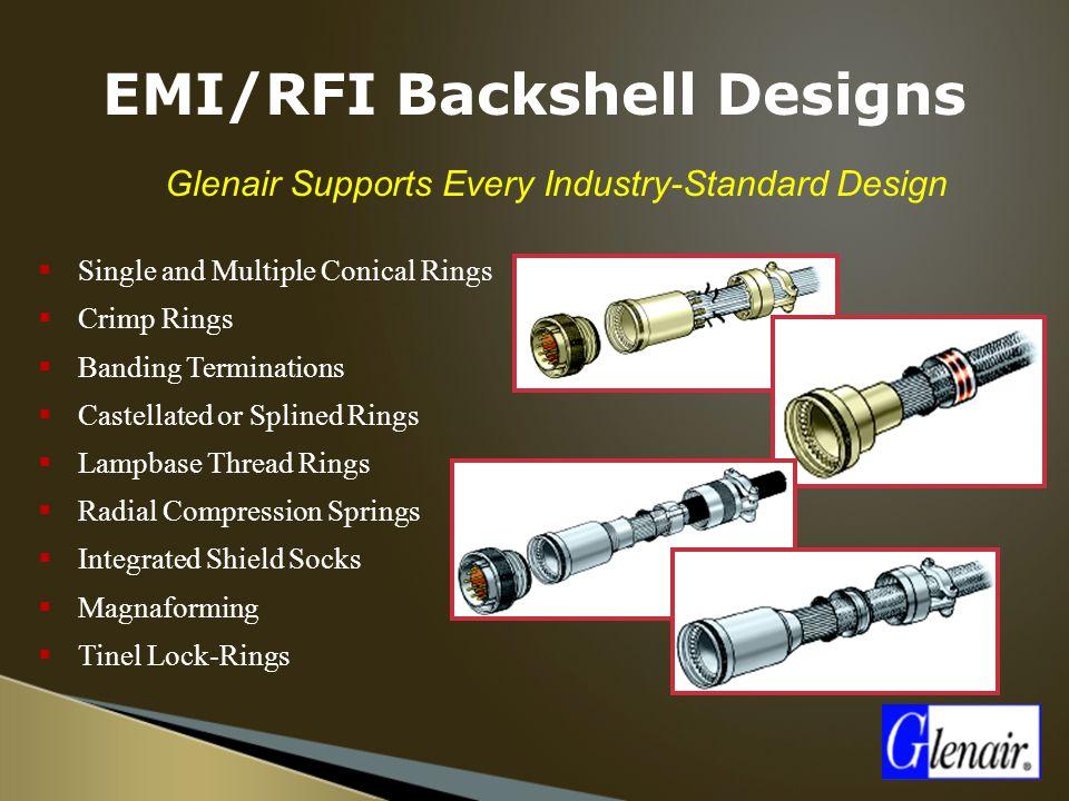 EMI/RFI Backshell Designs