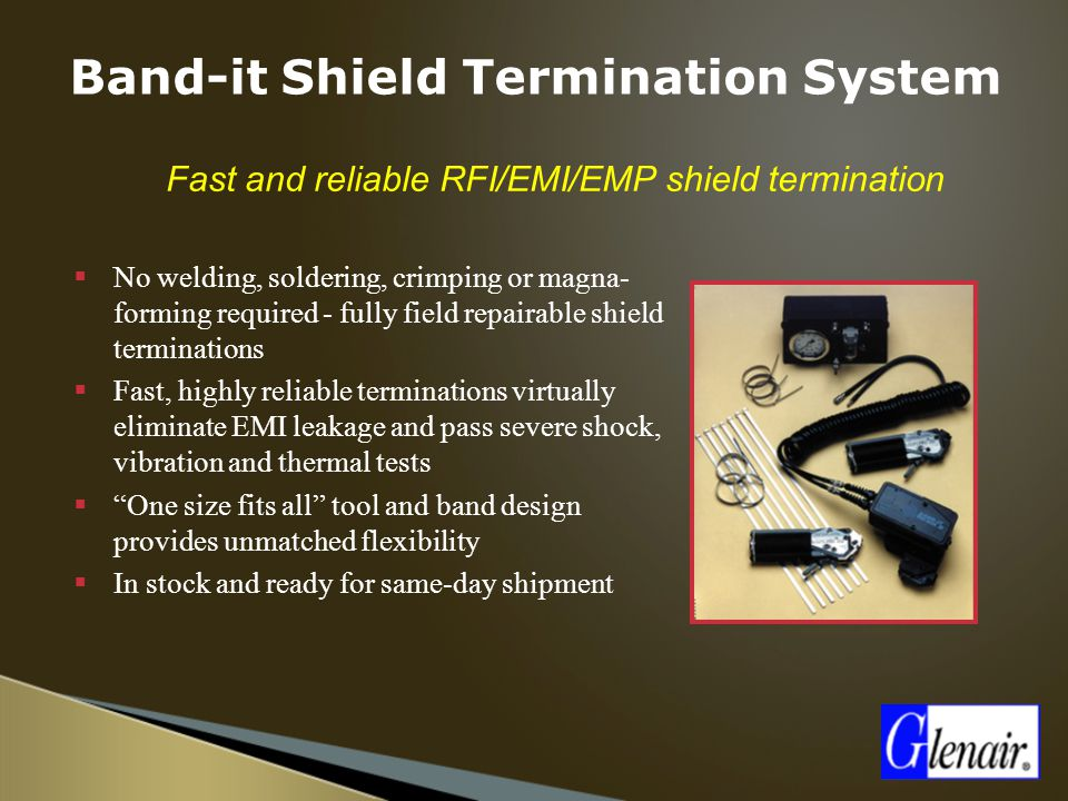Band-it Shield Termination System