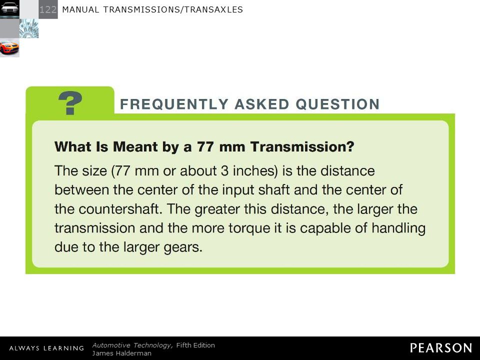 FREQUENTLY ASKED QUESTION: What Is Meant by a 77 mm Transmission