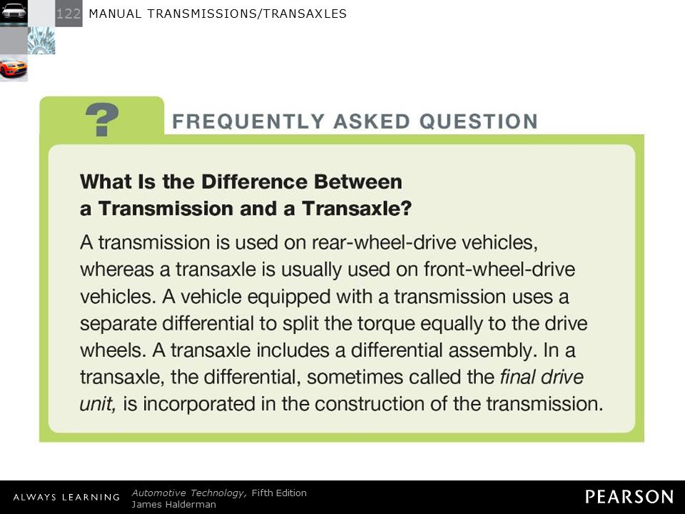 What Is the Difference Between a Transmission and a Transaxle