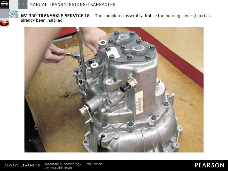 NV-350 TRANSAXLE SERVICE 18 The completed assembly