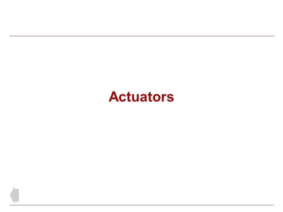 Actuators