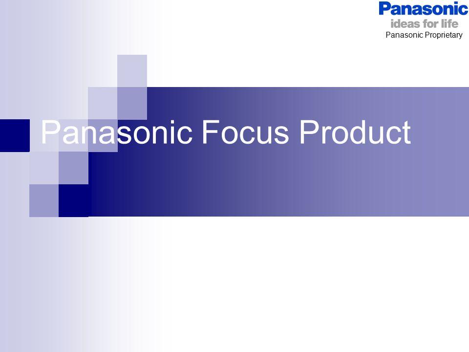 Panasonic Focus Product