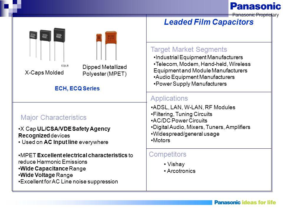 Leaded Film Capacitors